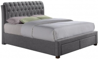 Birlea Valentino Grey Fabric Bed