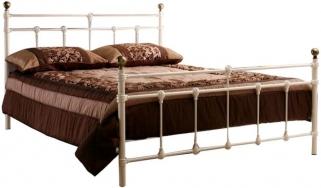Birlea Atlas Cream Metal Bed
