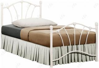 Birlea Sophia 3ft Cream Metal Bed