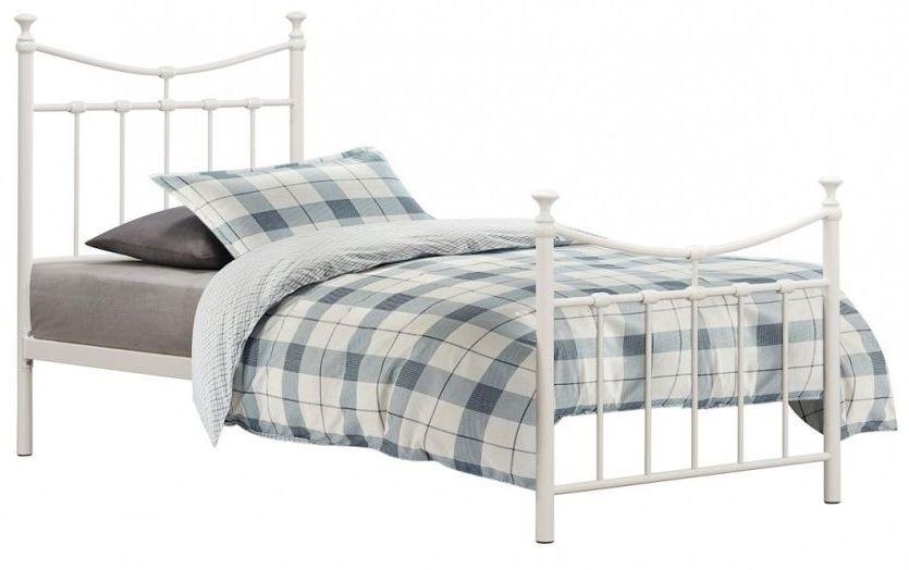 Birlea Emily Cream 5ft King Size Metal Bed