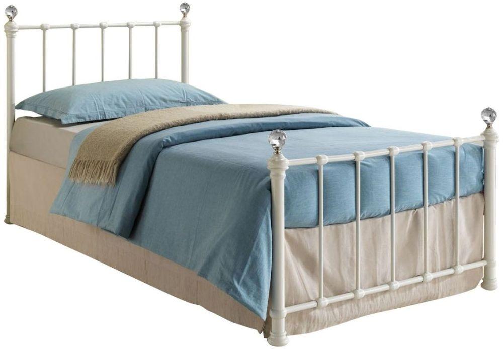 Birlea Jessica Cream Metal Bed - 3ft Single