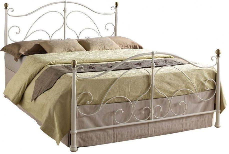 Birlea Milano Cream Metal Bed