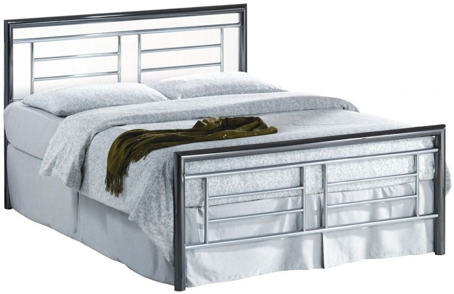 Birlea Montana Chrome and Nickel Metal Bed