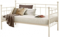 Birlea Lyon Cream Metal Daybed