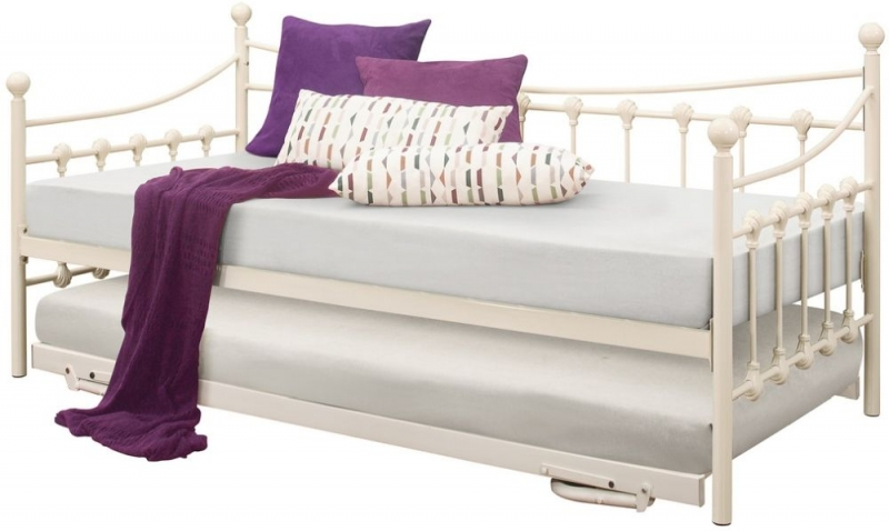Birlea Chantelle Cream 3ft Daybed with Underbed Trundle