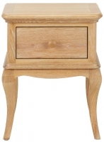 Birlea Jacques Oak Bedside Table