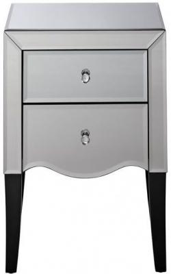 Birlea Palermo Mirrored Bedside Cabinet