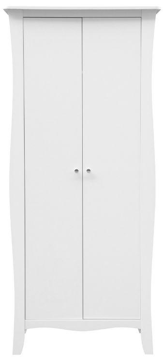 Birlea Paris White 2 Door Wardrobe