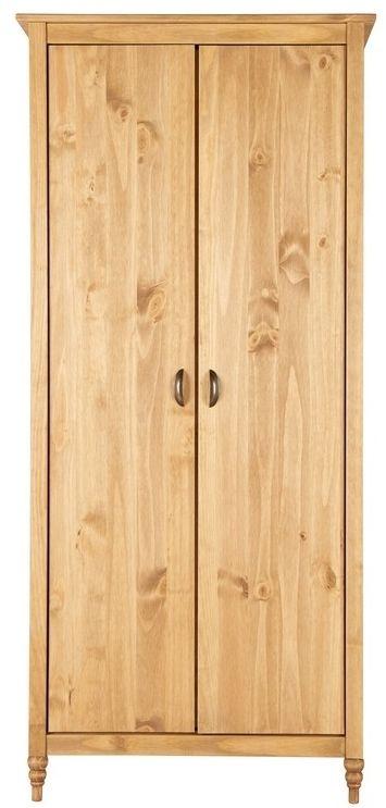 Birlea Pembroke Pine 2 Door Wardrobe