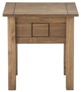 Birlea Santiago Pine Lamp Table