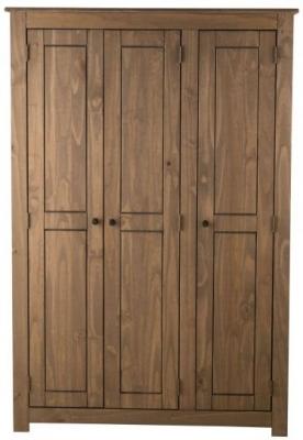 Birlea Santiago Pine 3 Door Wardrobe