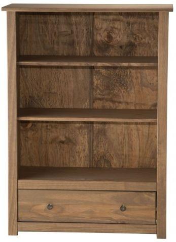Birlea Santiago Pine Bookcase - 1 Drawer