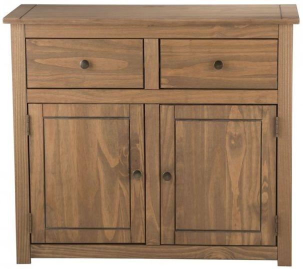 Birlea Santiago Pine Sideboard - 2 Door 2 Drawer