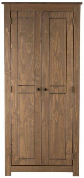 Birlea Santiago Pine 2 Door Wardrobe
