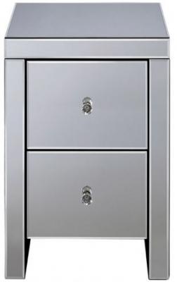 Birlea Seville Mirrored Compact Bedside Cabinet