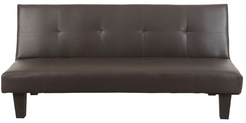 Birlea Franklin Brown Faux Leather Sofa Bed
