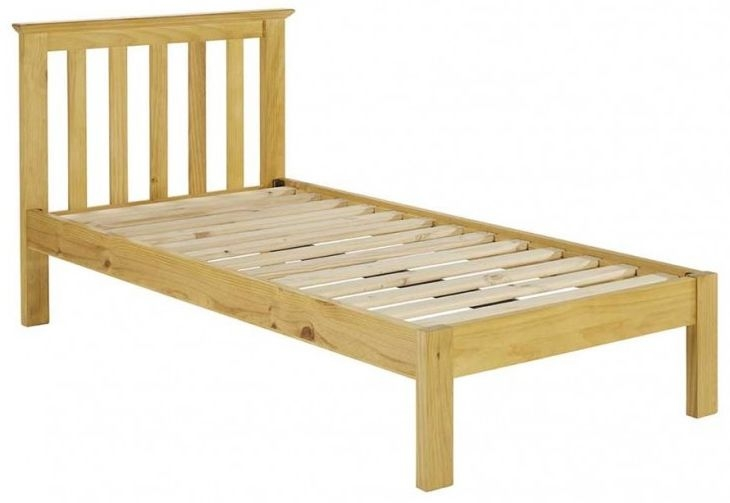Suffolk Natural Pine Bed