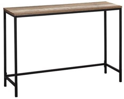 Birlea Urban Rustic Console Table with Metal Frame