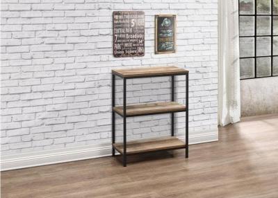 Birlea Urban Rustic Bookcase with Metal Frame