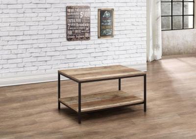 Birlea Urban Rustic Coffee Table with Metal Frame