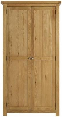 Birlea Woburn Oak 2 Door Wardrobe