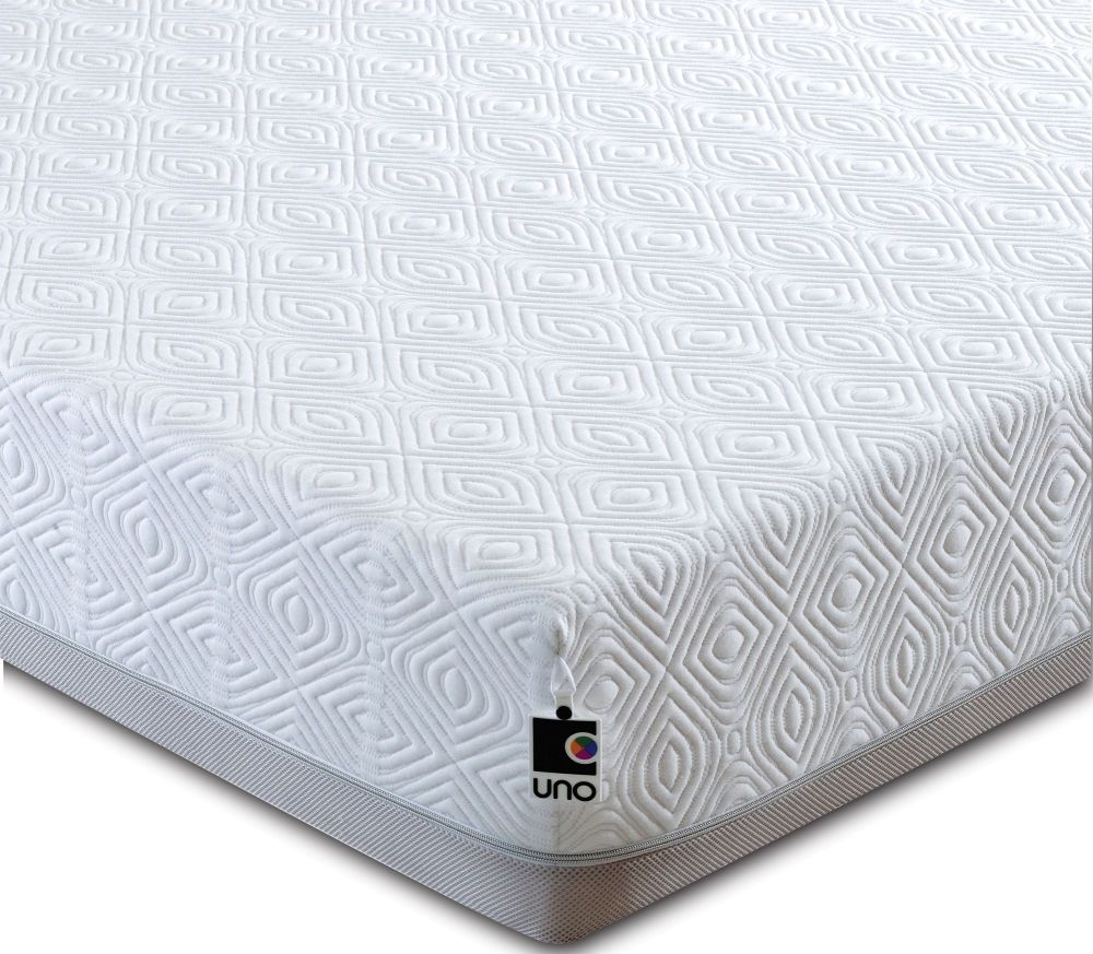 Breasley UNO 1000 Memory Pocket Spring 20cm Deep Mattress with Fresche Technology Standard Quilt - 3