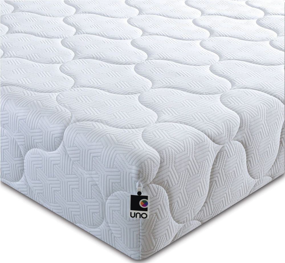 Breasley UNO 1000 Pocket Spring Ortho 20cm Deep Mattress with Fresche Technology - 3ft Single