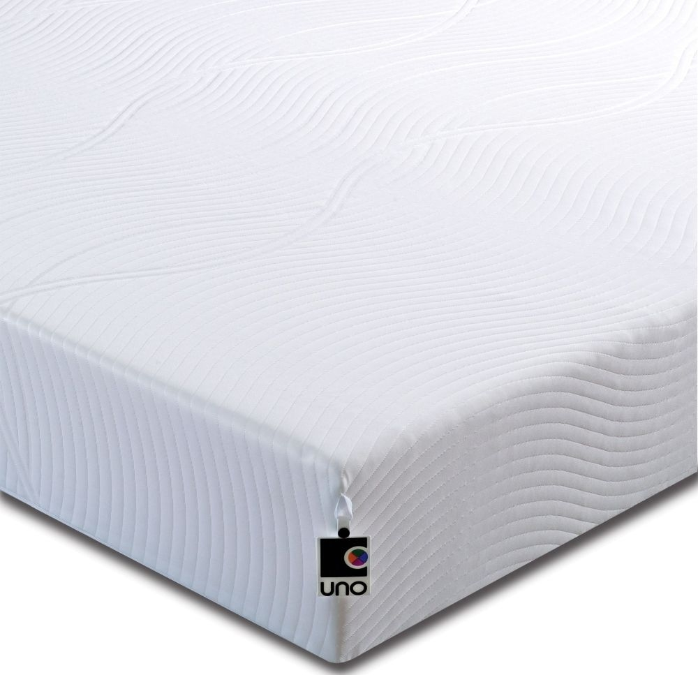 Breasley UNO Vitality Plus 20cm Deep Mattress with Adaptive and Fresche Technology - 3ft Single
