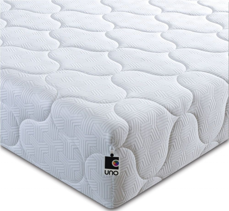 Breasley UNO 1000 Pocket Spring 20cm Ortho Deep Mattress with Fresche Technology - 4ft Small Double