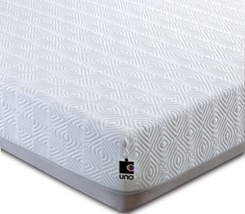 Breasley UNO 2000 Memory Pocket Spring 25cm Deep Mattress with Adaptive and Fresche Technology - 5ft King Size