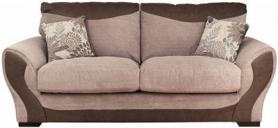 Buoyant Alex 3 Seater Fabric Sofa