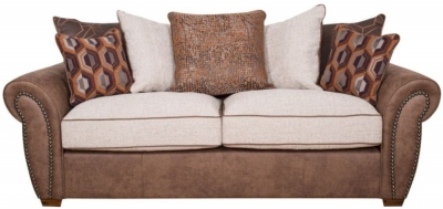 Buoyant Aston 3 Seater Fabric Sofa