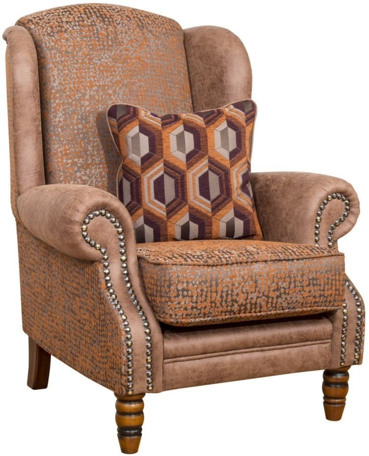 Buoyant Aston Fabric Wing Chair