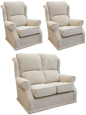 Buoyant Balmoral 2+1+1 Seater Fabric Sofa Suite