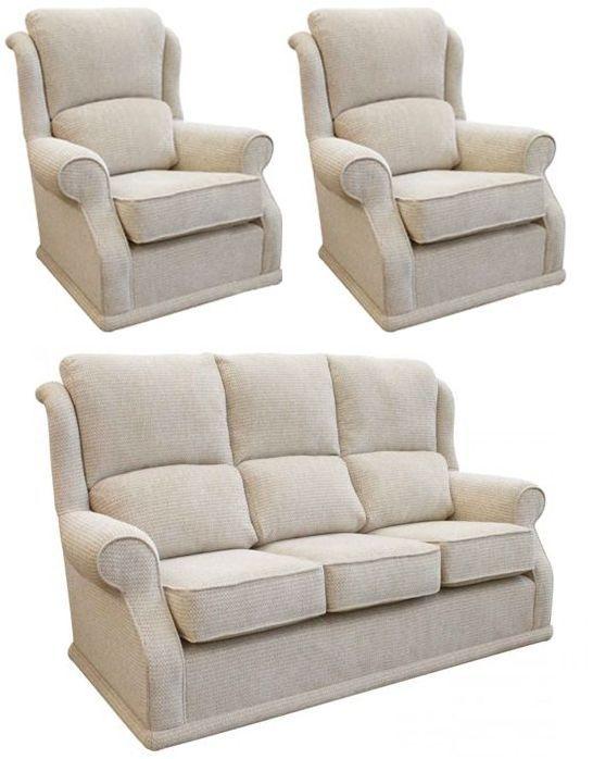 Buoyant Balmoral 3+1+1 Seater Fabric Sofa Suite