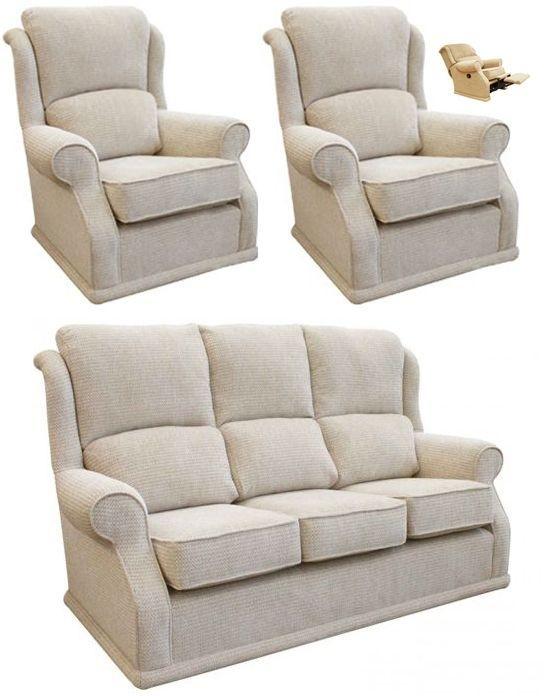 Buoyant Balmoral 3+1+1R Seater Fabric Sofa Suite