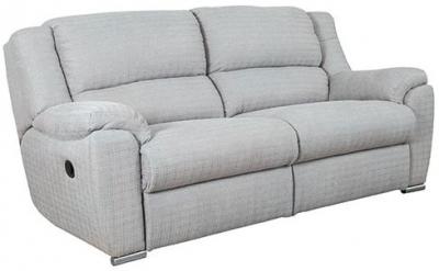 Buoyant Blake 3 Seater Fabric Recliner Sofa