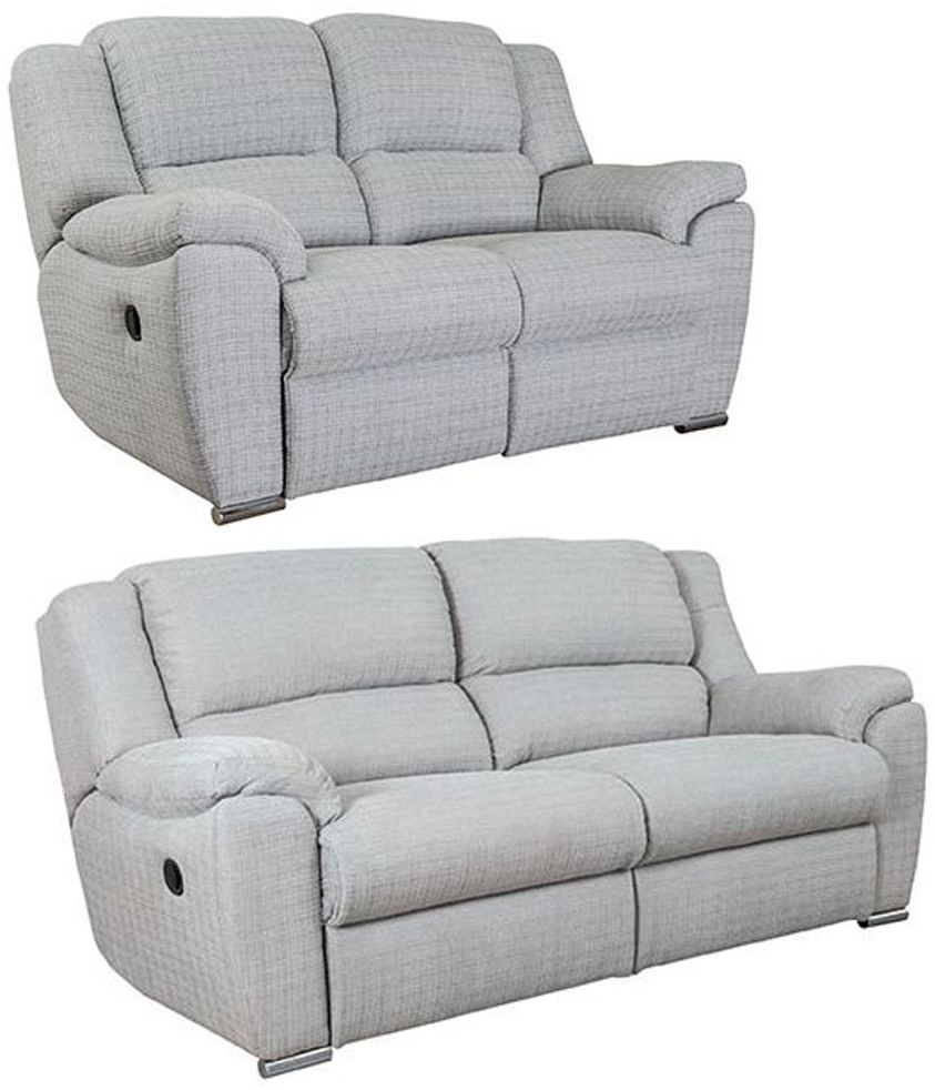 Buoyant Blake 3+2 Seater Fabric Recliner Sofa Suite