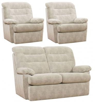 Buoyant Camden 2+1+1 Seater Fabric Sofa