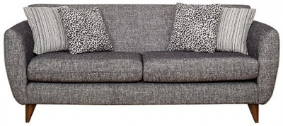 Buoyant Carnival 3 Seater Fabric Sofa