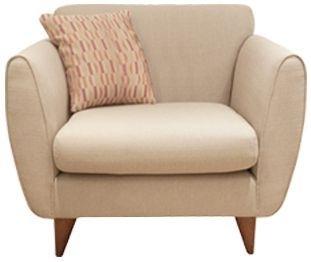 Buoyant Carnival Fabric Armchair