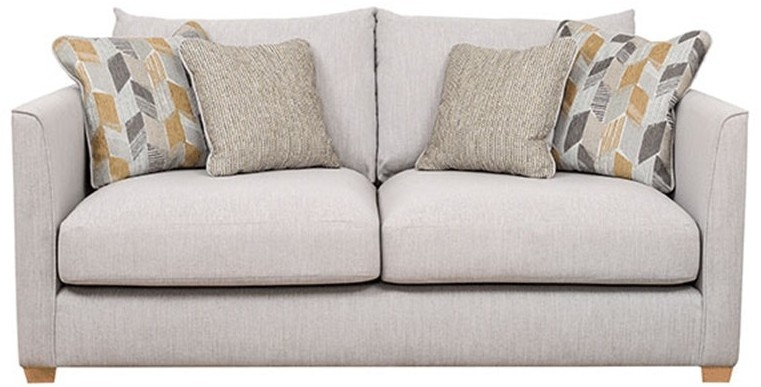 Buoyant Carter 3 Seater Fabric Sofa