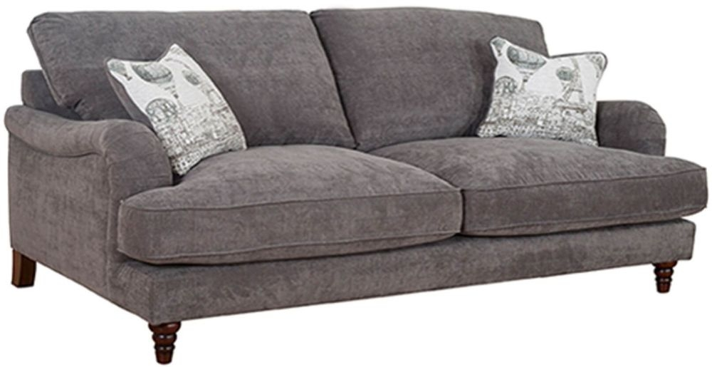 Buoyant Charleston 4 Seater Fabric Sofa