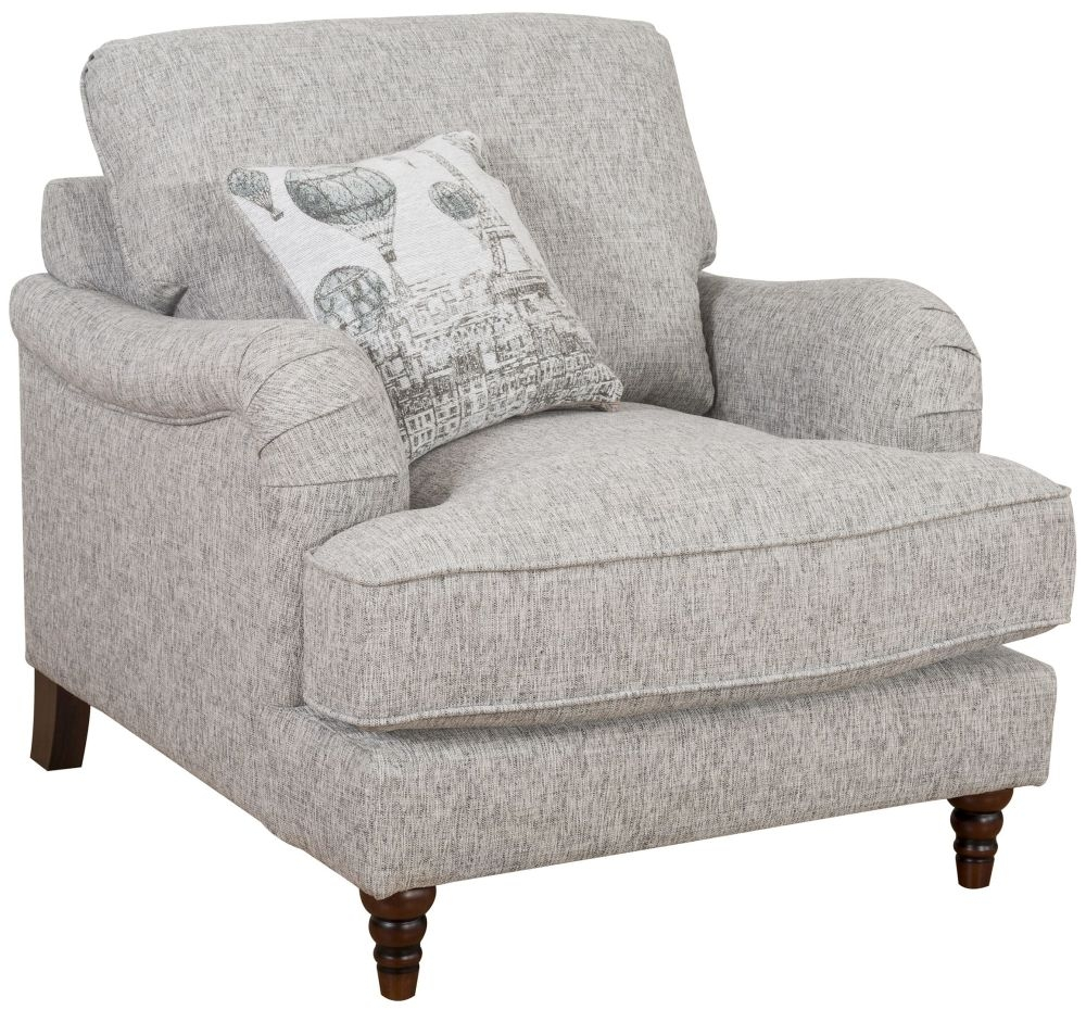 Buoyant Charleston Fabric Armchair