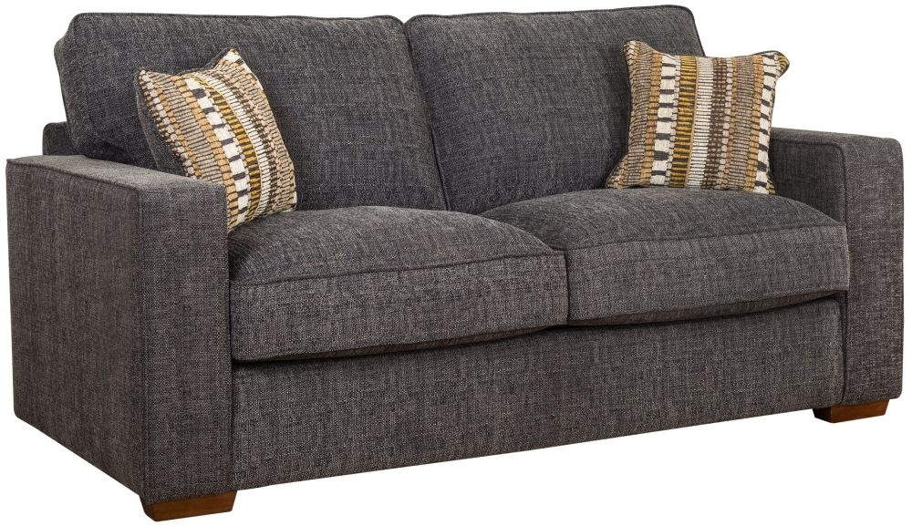 Buoyant Chicago 3 Seater Fabric Sofa