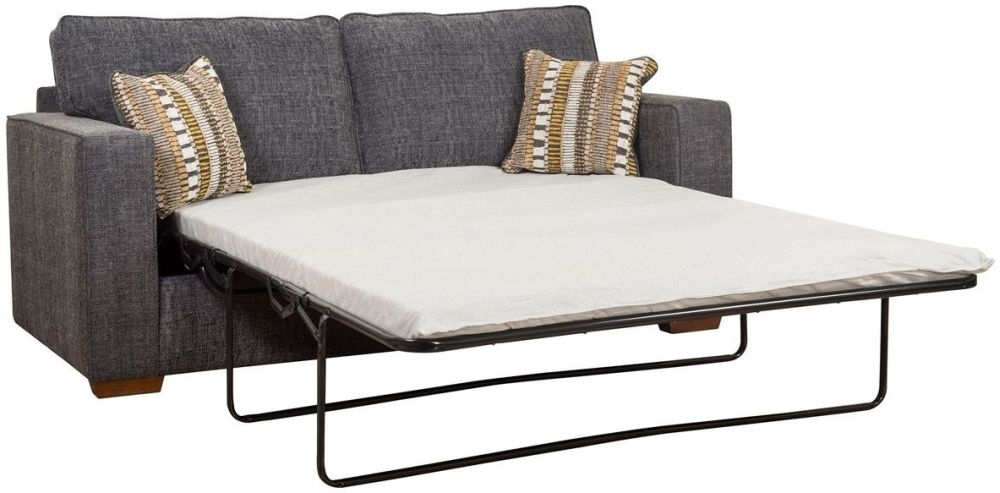Buoyant Chicago Fabric 3 Seater Sofa Bed