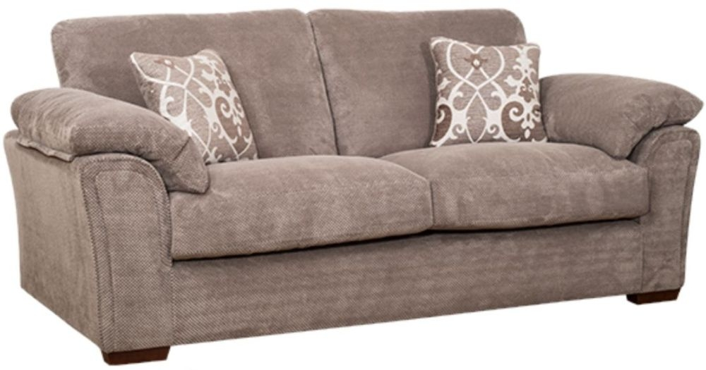 Buoyant Clifton 3 Seater Fabric Sofa
