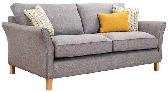 Elegant Buoyant Darwin 3 Seater Fabric Sofa