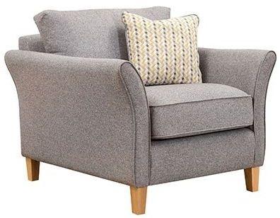 Buoyant Darwin Fabric Armchair