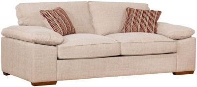 Buoyant Dexter 3 Seater Fabric Sofa
